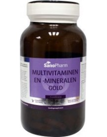 Multivitaminen/mineralen Gold Foodstate afbeelding