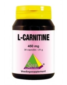 L-carnitine 650 Mg Puur afbeelding