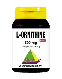 L-ornithine 500 Mg Puur afbeelding