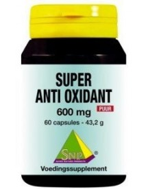 Super Anti Oxidant 600 Mg Puur afbeelding