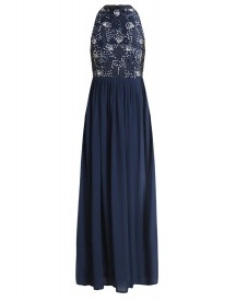 Lace & Beads Coby Maxijurk Navy afbeelding