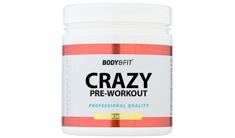 Image Crazy Pre-workout