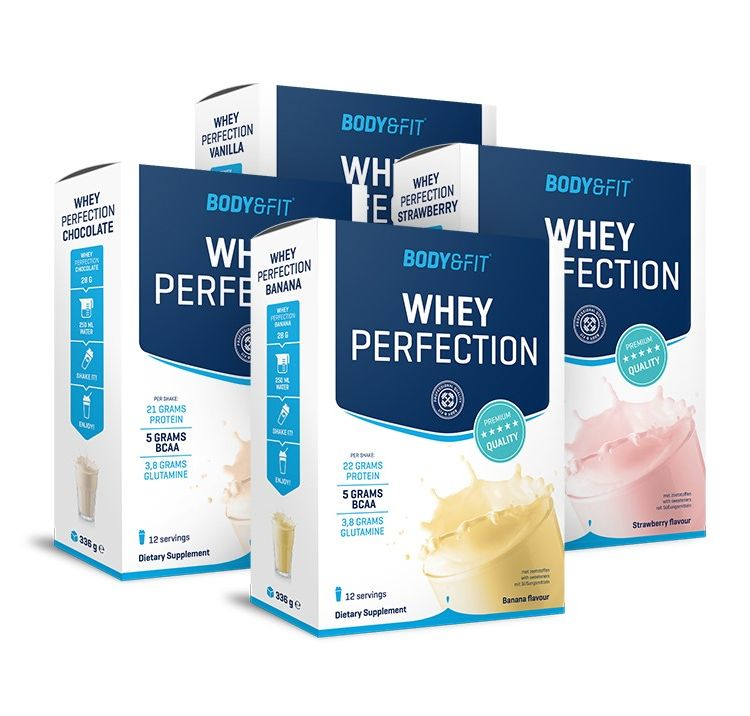 Image Whey Perfection - Bestseller Pack