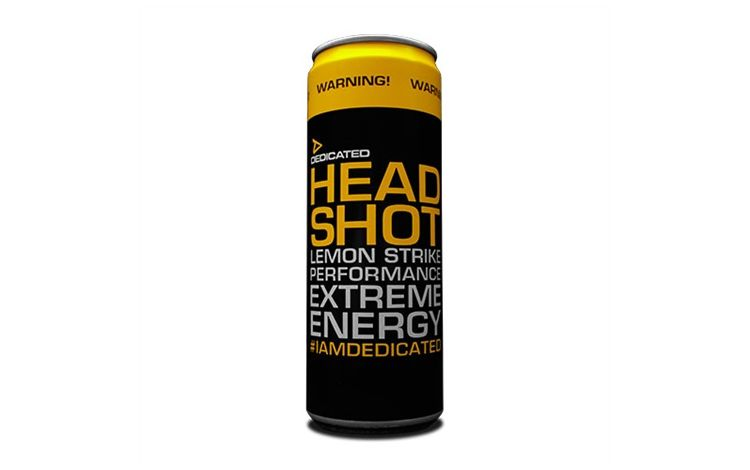Image Headshot Energy Drink