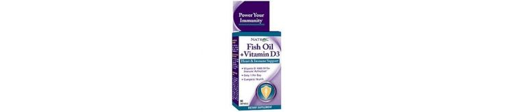 Image Fish Oil + Vitamin D3