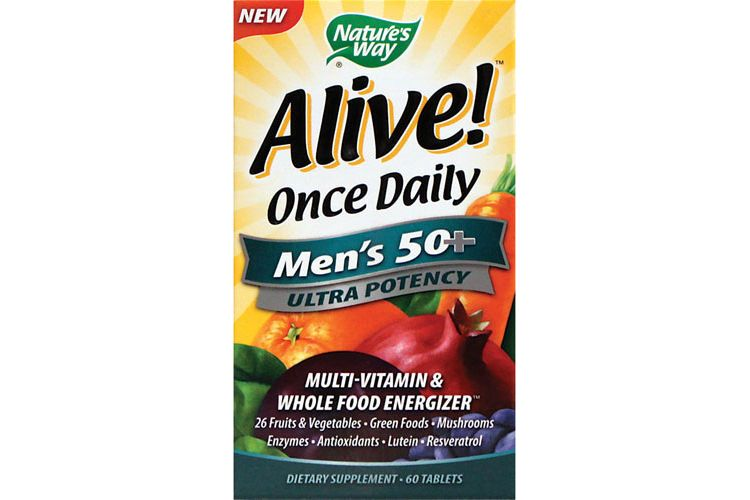 Image Alive Once Daily Mens 50+