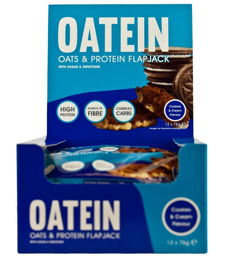 Image Oatein Protein Flapjack