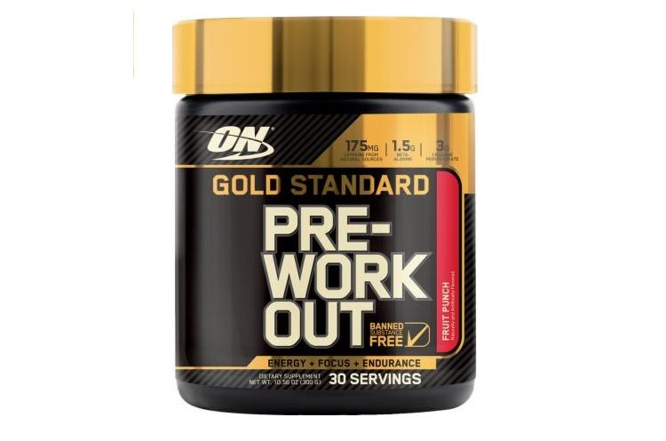 Image Gold Standard Pre-workout