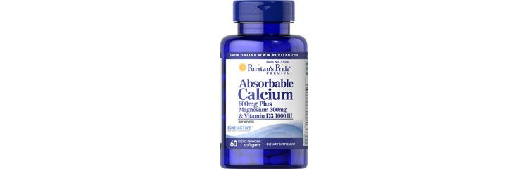 Image Absorbable Calcium 600mg, Magnesium 300mg & Vitamin D 1000iu