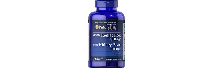 Image Konjac Root And White Kidney Bean