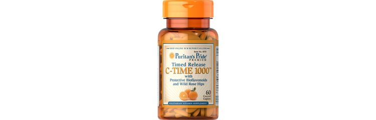 Image Vitamin C-1000 Mg With Rose Hips Timed Release
