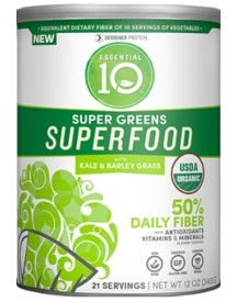 Essential 10 Super Greens Super Food With Kale & Barley Grass afbeelding