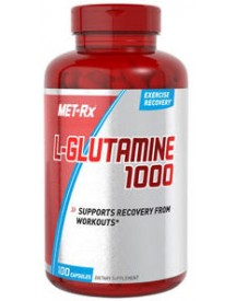 Hardcore L-glutamine Caps 500mg afbeelding