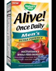 Alive! Once Daily Multivitamin Men's (ultra Potency) afbeelding