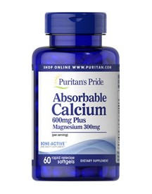 Absorbable Calcium 600 Mg - Magnesium 300 Mg afbeelding