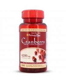 Cranberry Fruit Concentrate With C & E 4200 Mg afbeelding