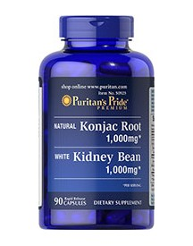 Konjac Root And White Kidney Bean afbeelding