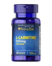 L-carnitine 250 Mg afbeelding