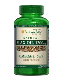 Natural Flax Oil 1200 Mg afbeelding
