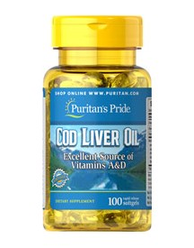 Norwegian Cod Liver Oil 415 Mg afbeelding