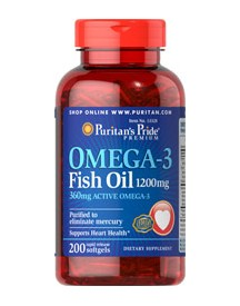 Omega-3 Fish Oil 1200mg afbeelding