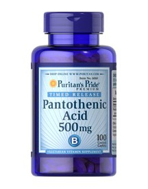Pantothenic Acid 500 Mg Timed Release afbeelding