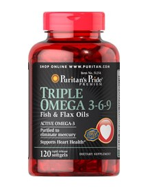 Triple Omega 3-6-9 Fish & Flax Oils afbeelding