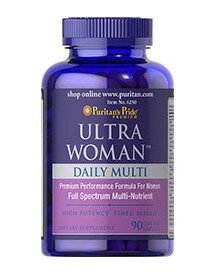 Ultra Woman™ Daily Multi Timed Release afbeelding