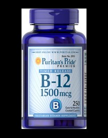 Vitamin B-12 1500mcg Timed Release afbeelding
