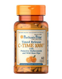 Vitamin C-1000 Mg With Rose Hips Timed Release afbeelding