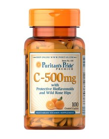 Vitamin C-500 Mg With Bioflavonoids & Rose Hips afbeelding