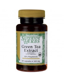 Super Herbs Green Tea Extract 500mg afbeelding