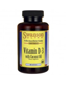 Ultra Vitamine D-3 2000iu W/coconut Oil afbeelding