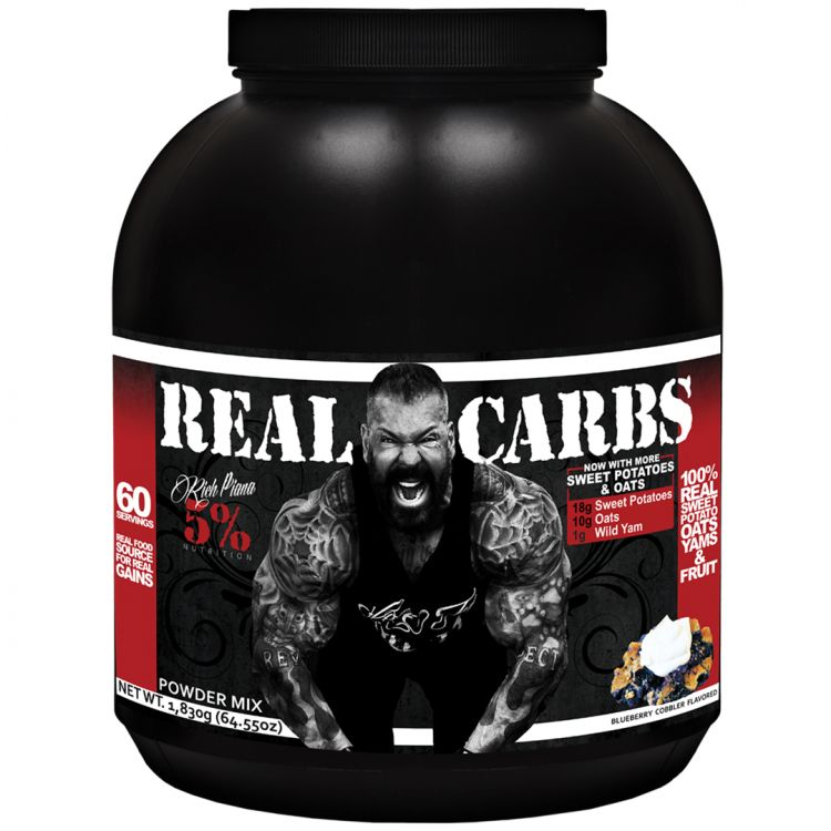 Image Real Carbs Rich Piana - Blueberry Cobbler 1830 Gr