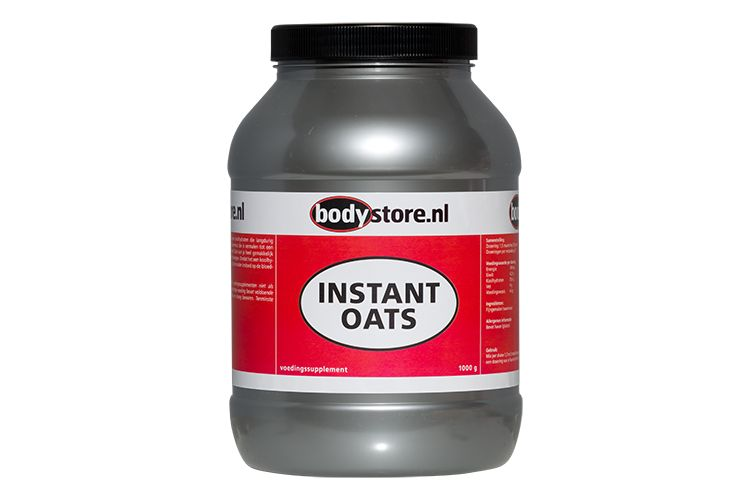Image Instant Oats - Bodystore - 1000 Gram