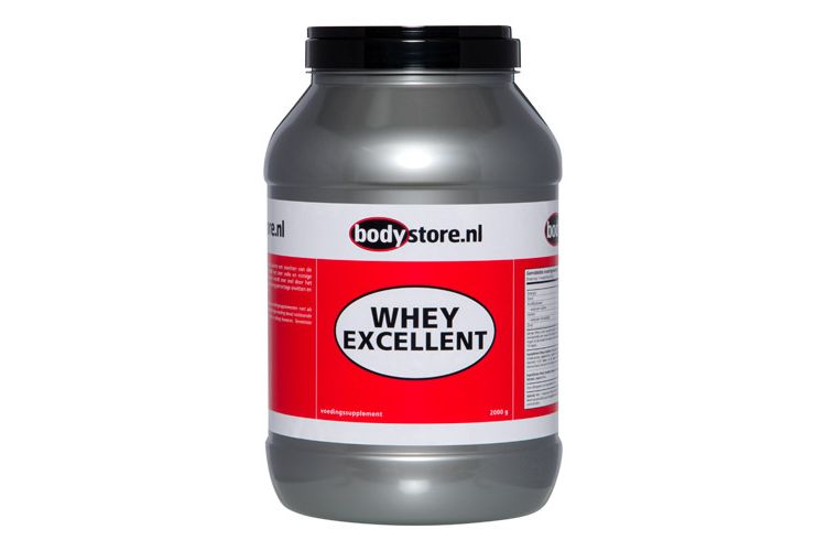 Image Whey Excellent Naturel - 2000 G - Bodystore.nl