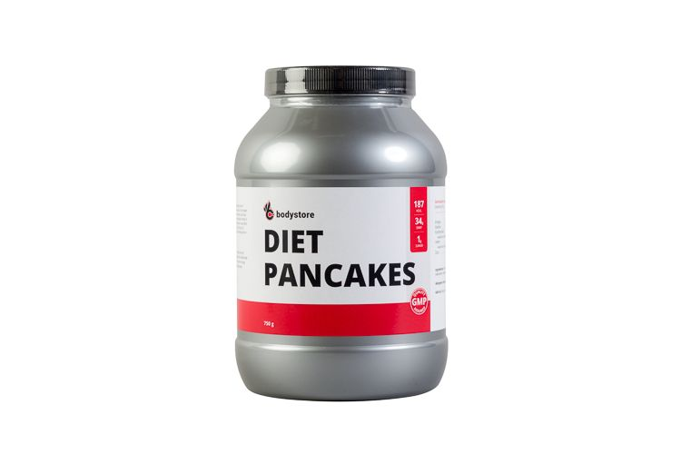 Image Diet Pancakes - 750 Gr - Chocolade Vanille - Bodystore