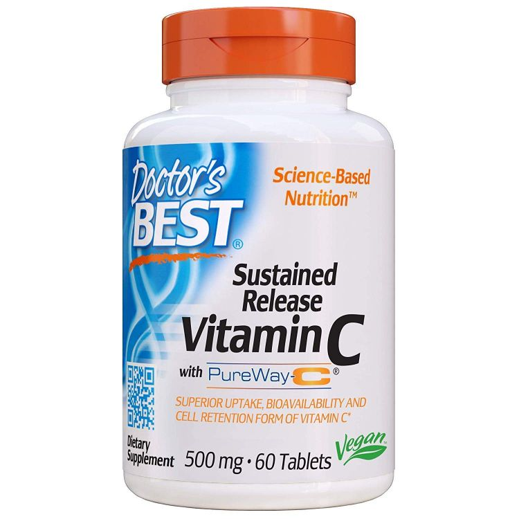 Image Sustained Release Vitamine C 500mg - 60 Tablets - Doctors Best