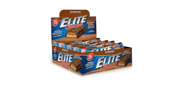 Image Elite Gourmet Protein Bar - Dymatize - 12 Repen - Cookies & Cream
