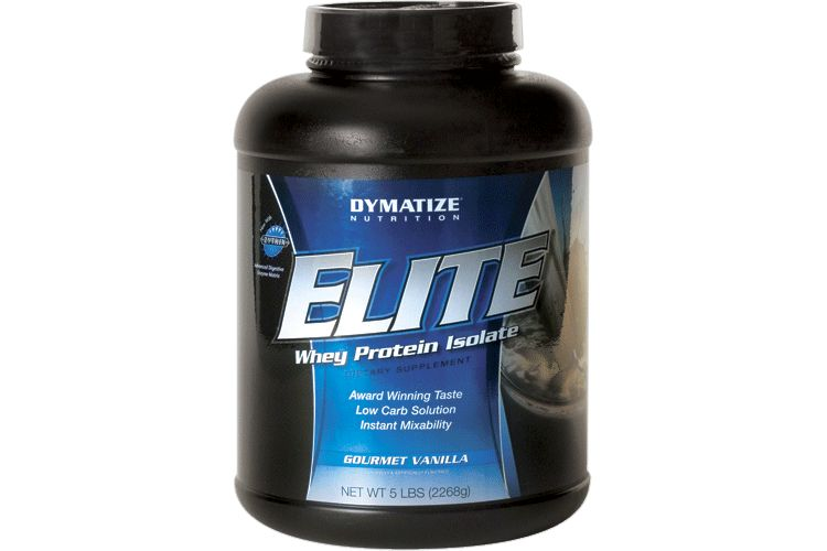 Image Elite_whey - Dymatize - 2270 Gram - Smooth Banana
