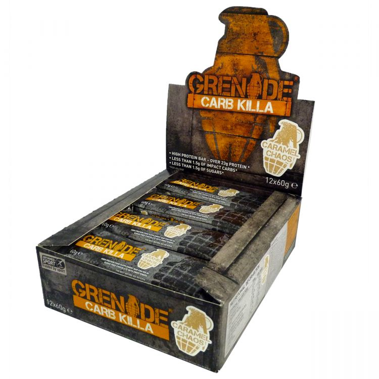 Image Carb Killa 12 X 60 Gr Fudge Brownie
