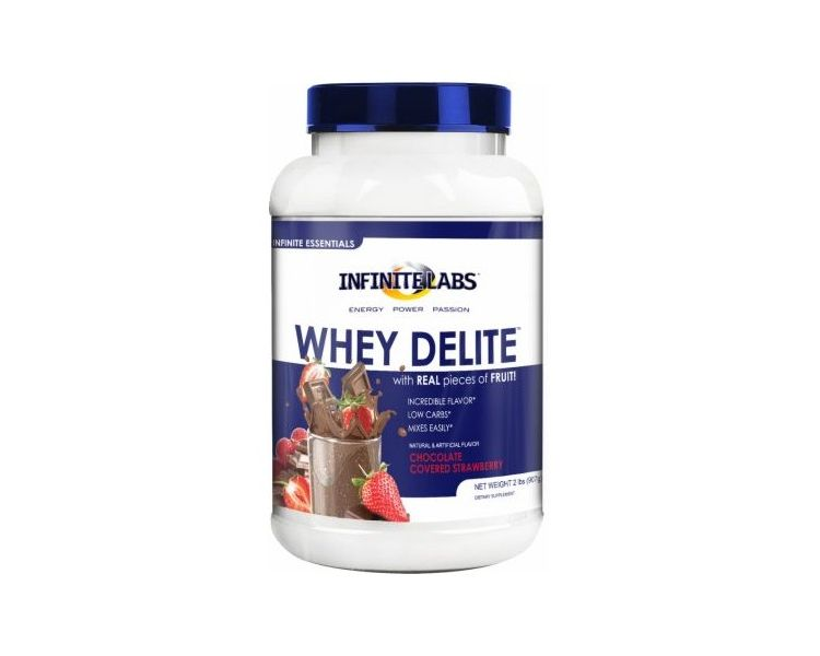 Image Whey Delite - Chocolate Covered Strawberry - 907 G - Infinite Labs