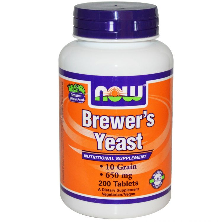 Image Brewers Yeast - 200 Tabletten - Now