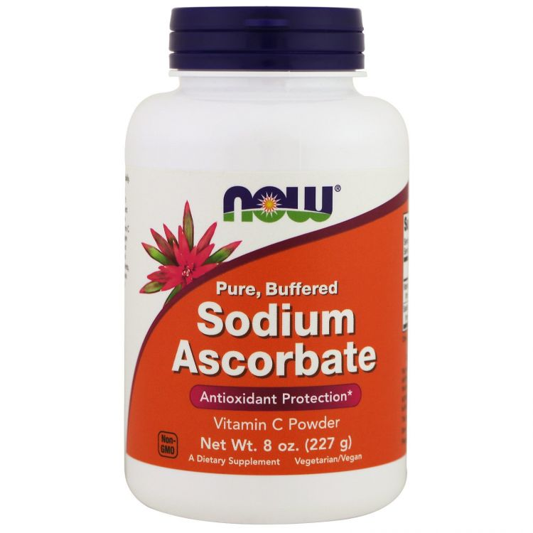 Image Sodium Ascorbate Powder 8oz Now