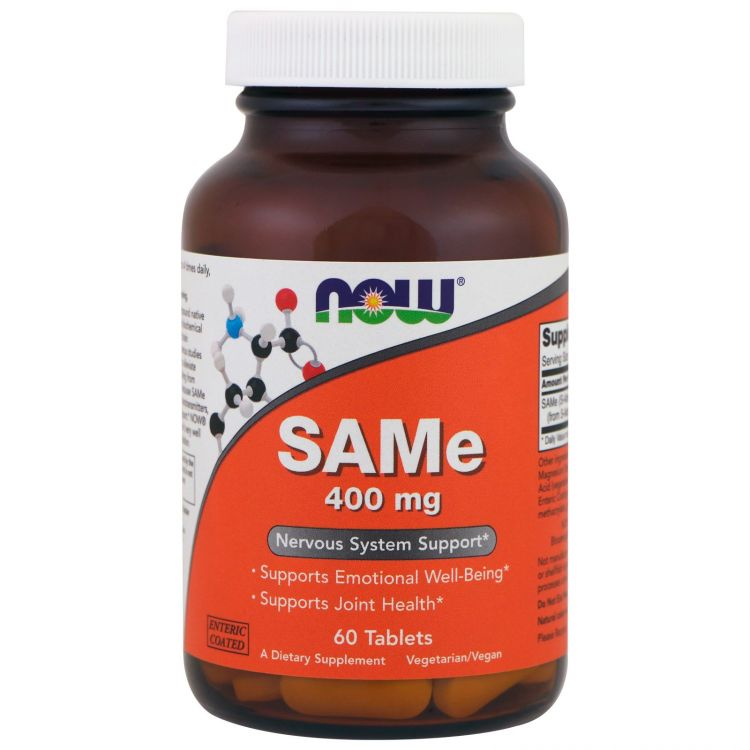 Image Same, 400mg | Now Foods 60 Tabletten