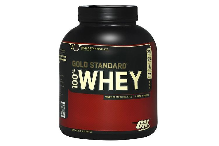 Image 100_whey_gold_standard - 2273 Gram - Strawberry/banana