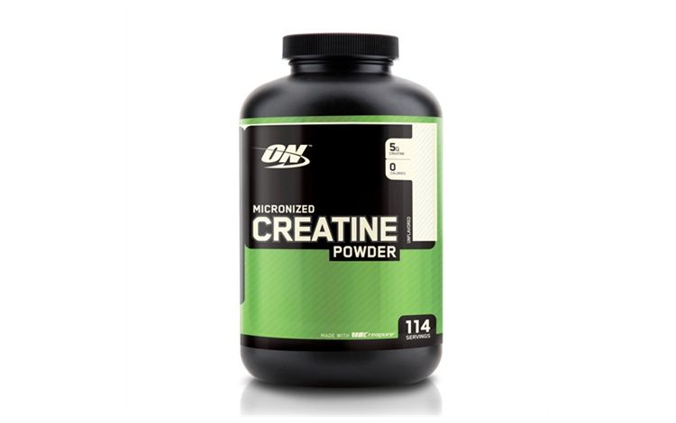 Image Optimum Nutrition, Micronized Creatine Powder, Unflavored, 1.32 Lb (600 G)