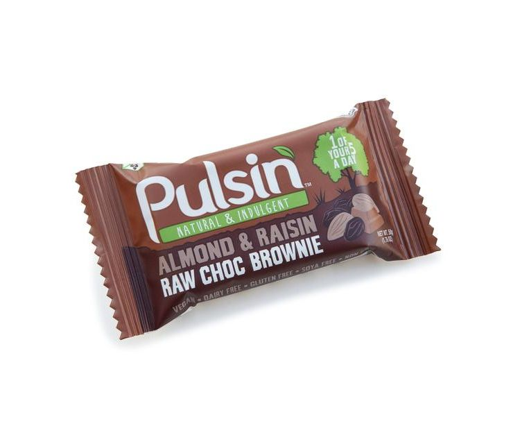 Image Raw Choc Brownies 50g Pulsin