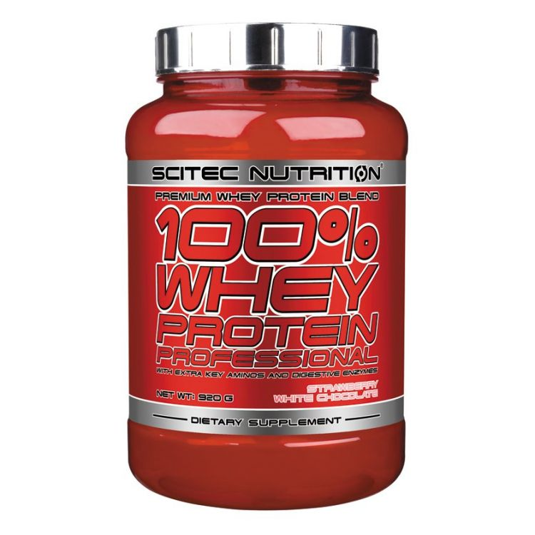 Image 100% Whey Protein Professional - 2350 Gr - Strawberry White Chocolate