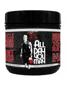 All Day You May Rich Piana 30 Servings - Blue Raspberry afbeelding